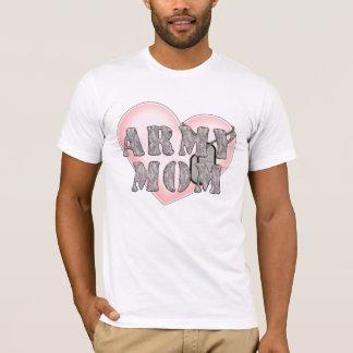 Army Mom heart dogtags T-Shirt