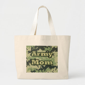 Army Mom Large Tote Bag