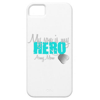 Army Mom Son is my  Hero iPhone 5 Cover