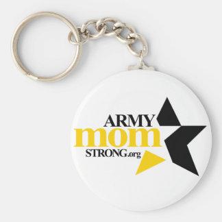 Army Mom Strong Organization Key Chain