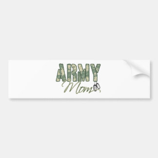 army mom with dog tags copy bumper sticker