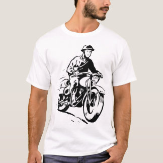Army Motorcyclist Mens T-Shirt
