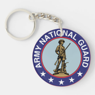 Army National Guard Keychain