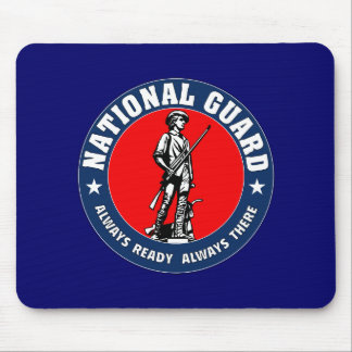 Army National Guard Logo Mouse Pad