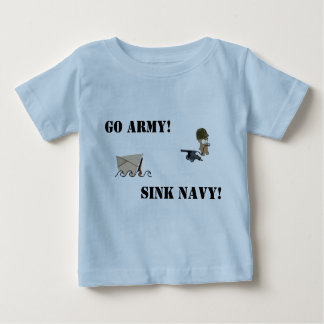 Army-Navy Bear Baby T-Shirt