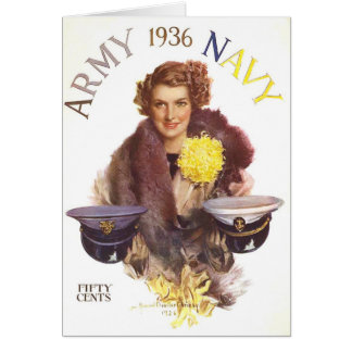 Army Navy Game Card