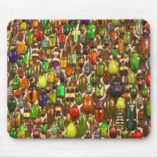 Army of Beetles and Bugs Mouse Pad