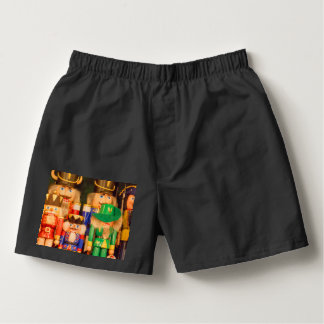 Army of Christmas Nutcrackers Boxers
