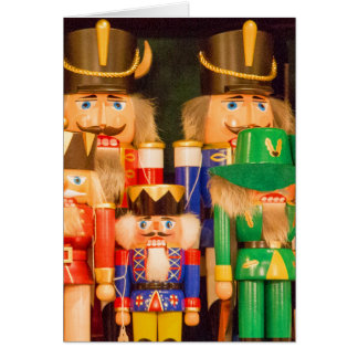 Army of Christmas Nutcrackers Card