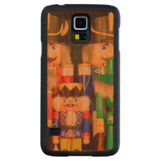 Army of Christmas Nutcrackers Carved Cherry Galaxy S5 Case