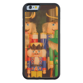 Army of Christmas Nutcrackers Carved Maple iPhone 6 Bumper Case