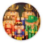 Army of Christmas Nutcrackers Ceramic Knob