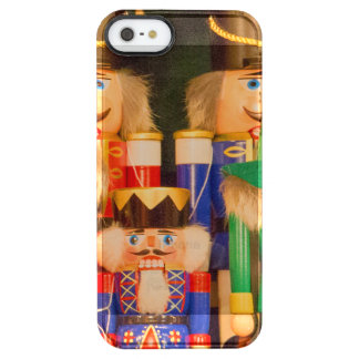Army of Christmas Nutcrackers Clear iPhone SE/5/5s Case