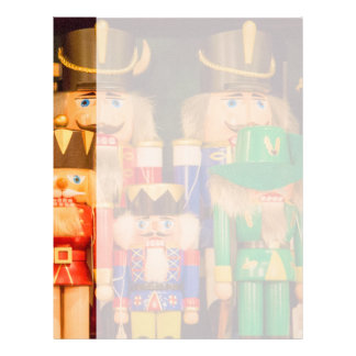 Army of Christmas Nutcrackers Custom Letterhead