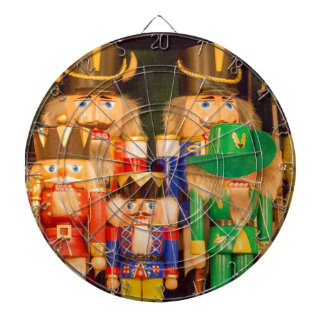 Army of Christmas Nutcrackers Dartboard