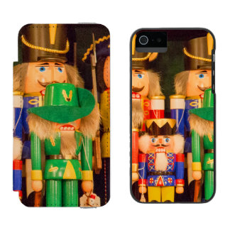 Army of Christmas Nutcrackers Incipio Watson™ iPhone 5 Wallet Case
