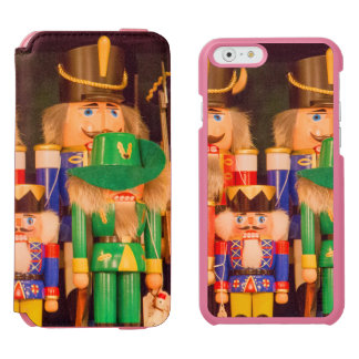 Army of Christmas Nutcrackers Incipio Watson™ iPhone 6 Wallet Case