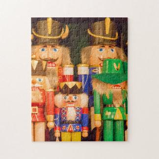 Army of Christmas Nutcrackers Jigsaw Puzzle