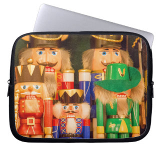 Army of Christmas Nutcrackers Laptop Sleeve