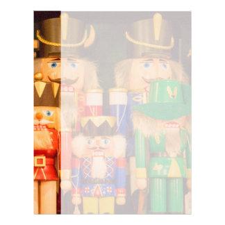 Army of Christmas Nutcrackers Letterhead