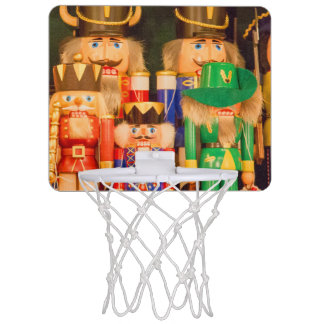 Army of Christmas Nutcrackers Mini Basketball Hoop