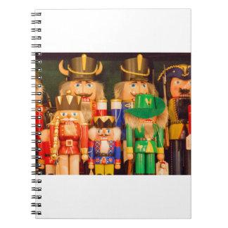 Army of Christmas Nutcrackers Notebook