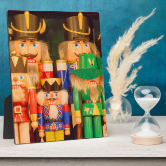Army of Christmas Nutcrackers Plaque