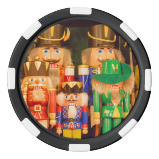 Army of Christmas Nutcrackers Poker Chips