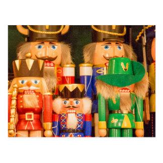 Army of Christmas Nutcrackers Postcard
