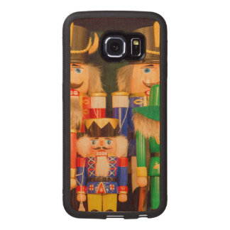Army of Christmas Nutcrackers Wood Phone Case