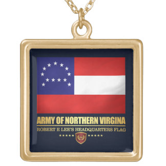 Army of Northern Virginia (F10) Gold Plated Necklace