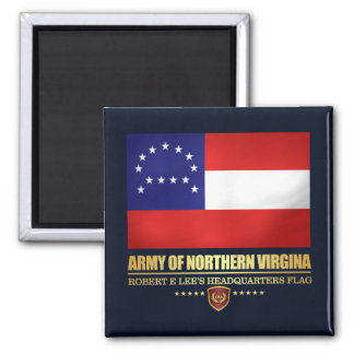 Army of Northern Virginia (F10) Square Magnet