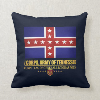 Army of Tennesse (Polk) Throw Pillow