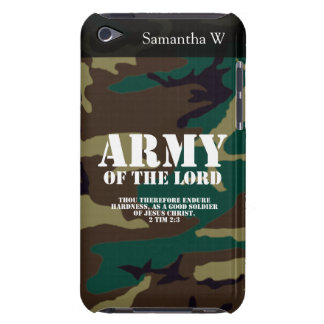 Army of the Lord, Bible Scripture Camo iPod Touch Case-Mate Case