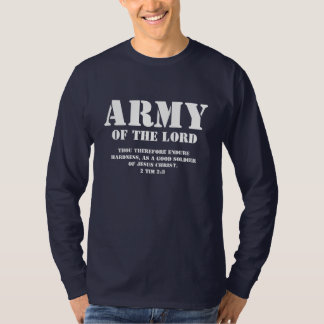 Army of the Lord, Cool Christian Mens T-Shirts