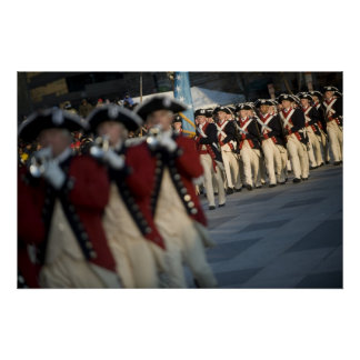 Army Old Guard Fife and Drum Corps Print