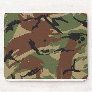 Army Pattern Mouse Pad - Yellow