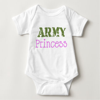 Army Princess Baby Bodysuit