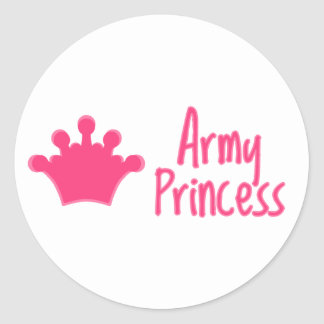 """""""Army Princess"""" Stickers"""