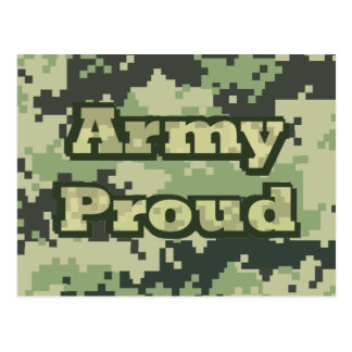 Army Proud Postcard