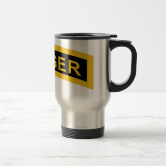 Army Ranger Tab 15 Oz Stainless Steel Travel Mug