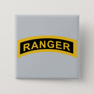 Army Ranger Tab 2 Inch Square Button