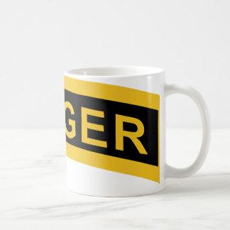 Army Ranger Tab Basic White Mug
