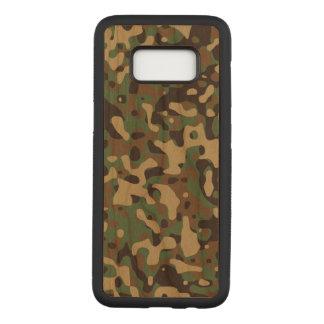Army Samsung Galaxy S8 Slim Cherry Wood Case