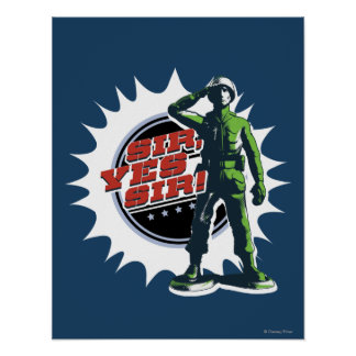 Army Sarge: Sir, Yes Sir! Poster