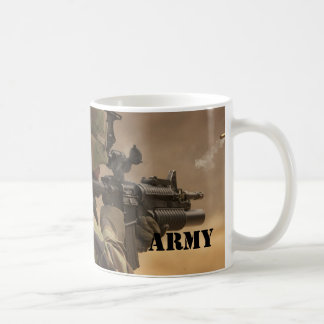 ARMY Shooter Casing Coffee Mug