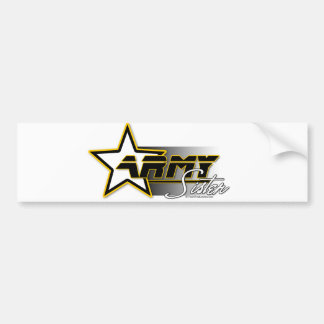 Army Sister Bumper Sticker