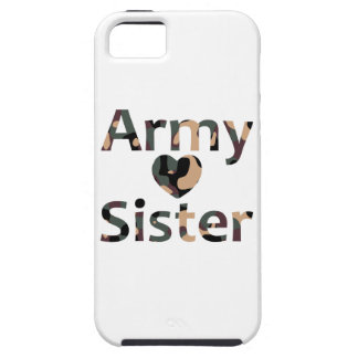 Army Sister Heart Camo Case For The iPhone 5