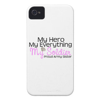 Army Sister My Hero iPhone 4 Covers