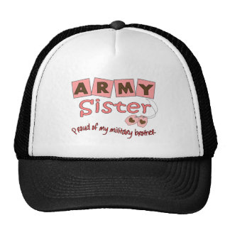 Army Sister --T-Shirts Trucker Hat